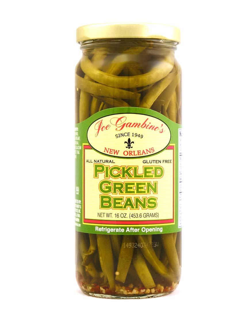 Pickled Green Beans Jar