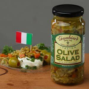 Gambino's Italian Olive Salad Recipes Tuna Appetizer