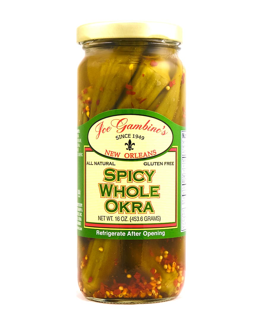 Spicy Whole Okra